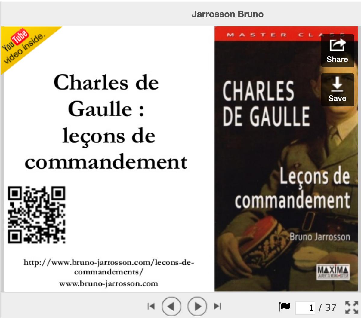 Leçons de commandement
