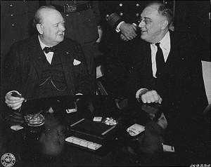 Churchill-et-Roosevelt