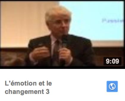 L'émotion et le changement